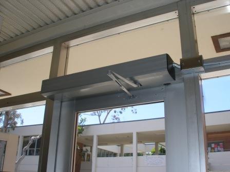 ADA HANDICAP SINGLE DOOR OPERATORS INSTALLED WITH NEW AND EXISTING DOORS & JobPhotos